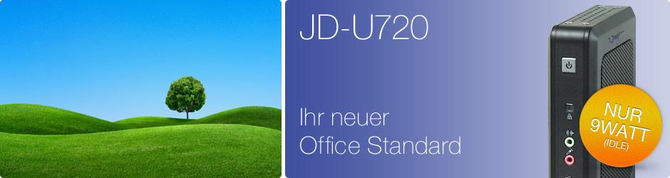 JD-U720. Ihr Neuer Office Standard.